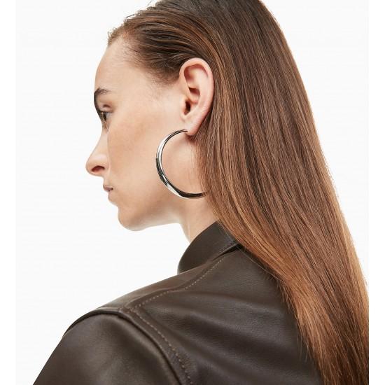 Hoop Earrings - CALVIN KLEIN Groovy