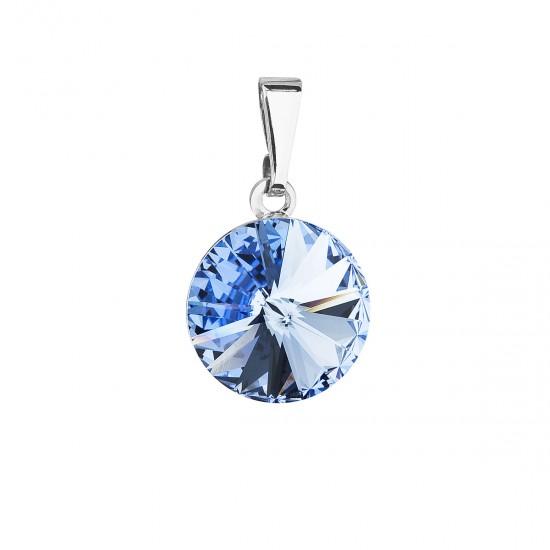 Přívěsek bižuterie se Swarovski krystaly fialový modrý 54001.3