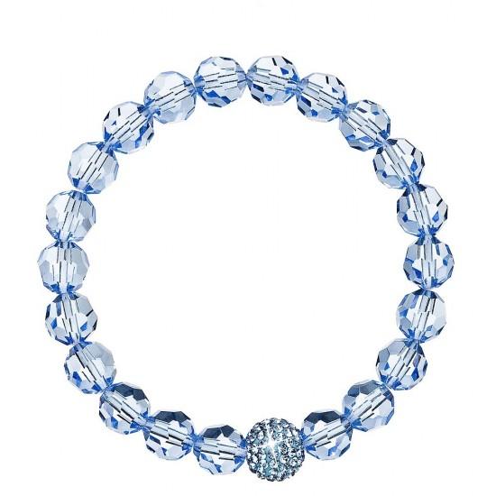 Náramek s krystaly modrý 733066.3