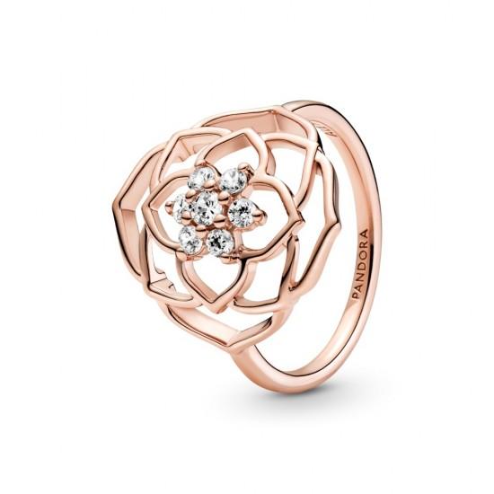 Výrazný prsten Okvětní lístky růže