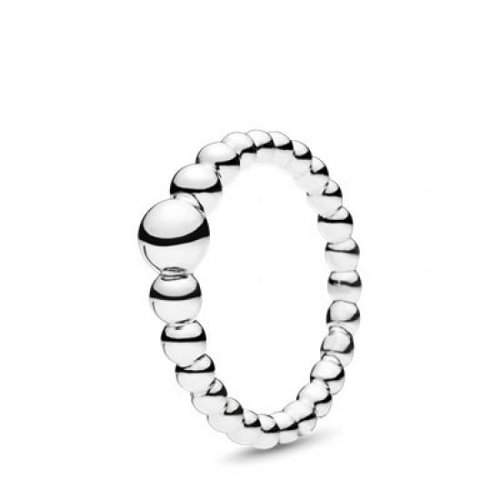Prsten Řetízek korálků