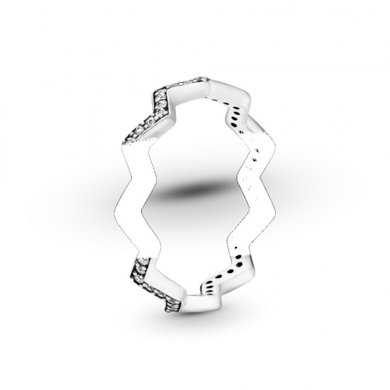 Prsten Třpytivý Cikcak