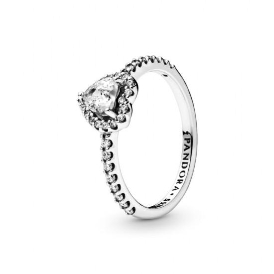 Prsten Vyvýšené srdce