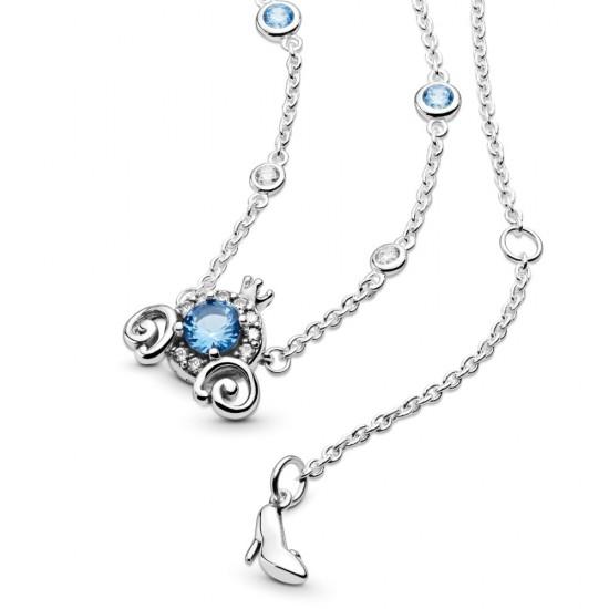 Krátký náhrdelník Disney Dýňový kočár