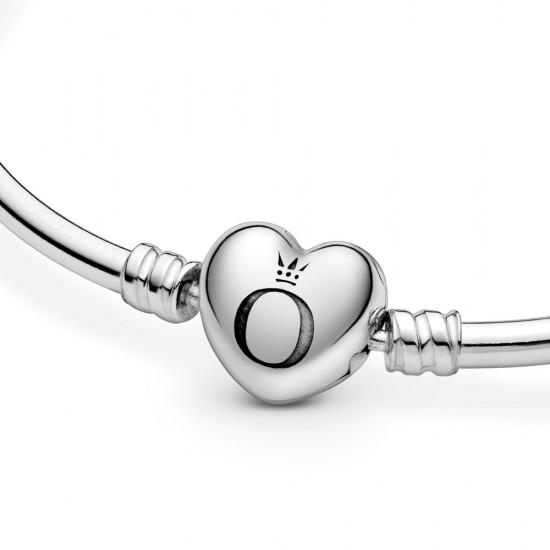 Moments náramek, zapínání ve tvaru srdce s logem