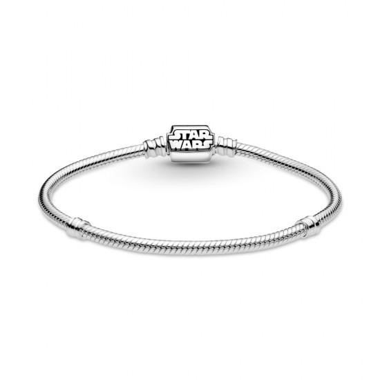 Hadovitý řetízkový náramek Pandora Moments se sponou Star Wars