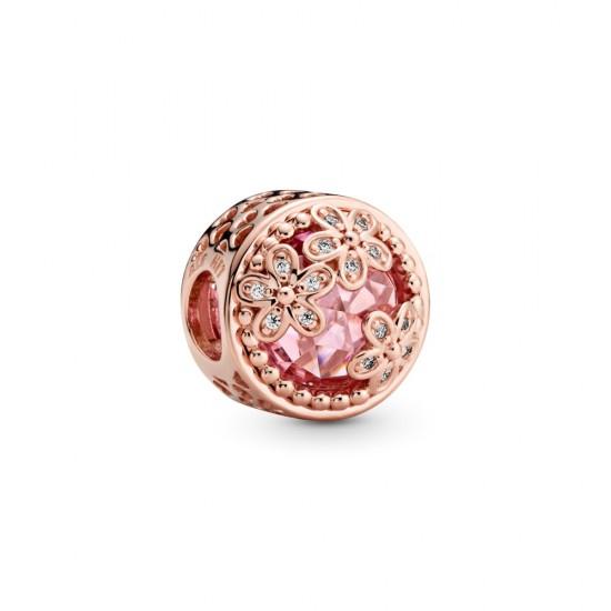 Přívěsek Třpytivé růžové sedmikrásky