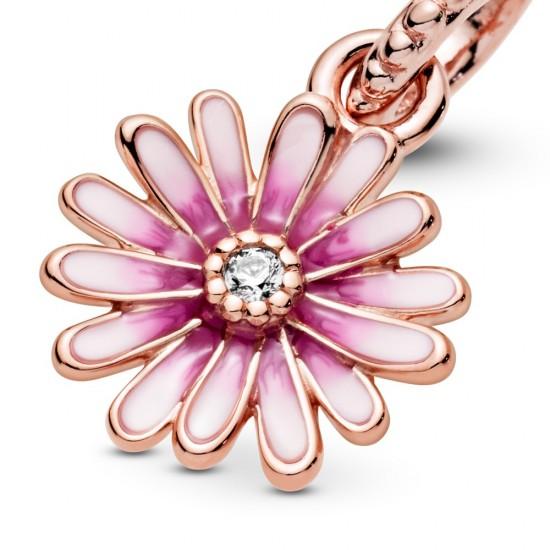 Visací přívěsek Růžová sedmikráska