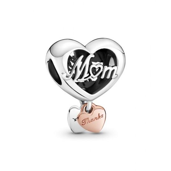 Srdcový přívěsek Děkuji, maminko