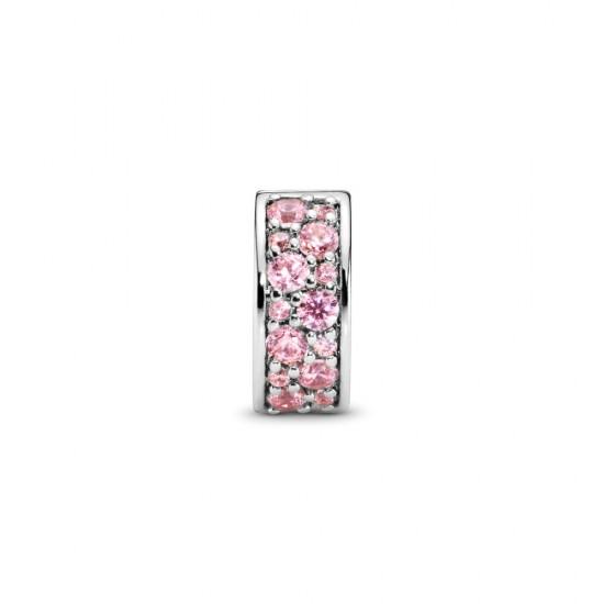 Klipový přívěsek Růžové pavé