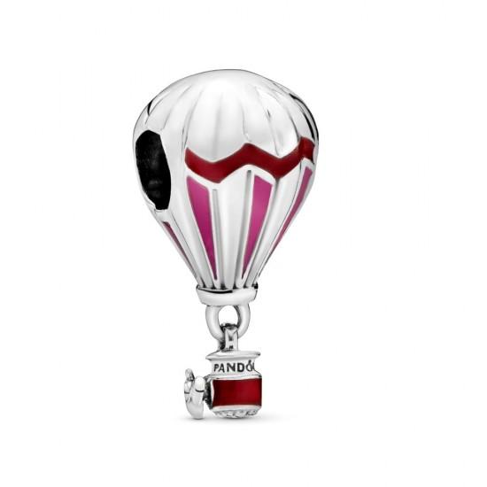 Přívěsek Červený horkovzdušný balón