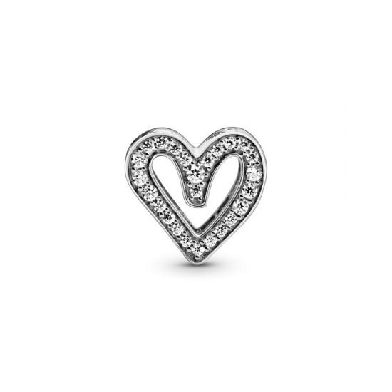 Přívěsek Třpytivé srdce nepravidelného tvaru