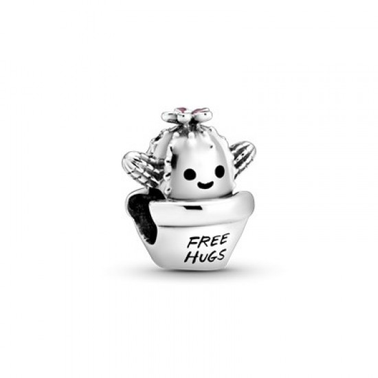 Přívěsek Kaktus Free Hugs