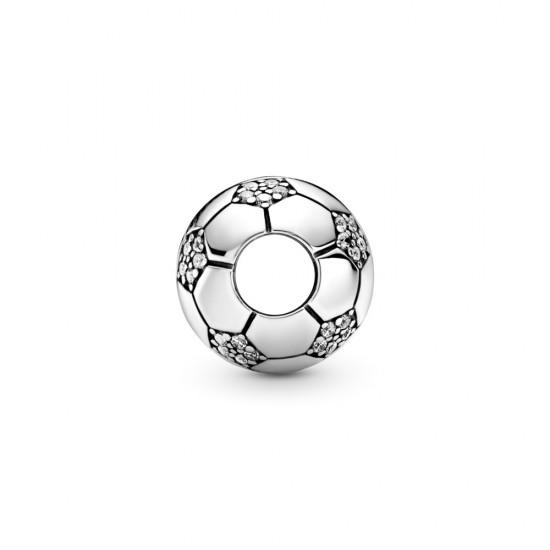 Přívěsek Třpytivý fotbalový míč