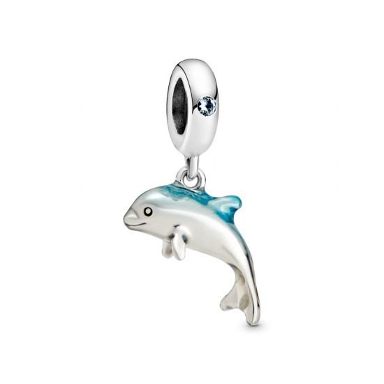 Visací přívěsek Třpytivý delfín