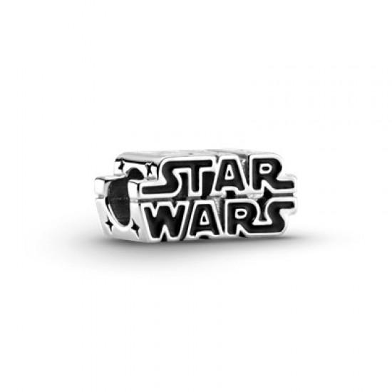 Přívěsek Stříbrné 3D logo Star Wars