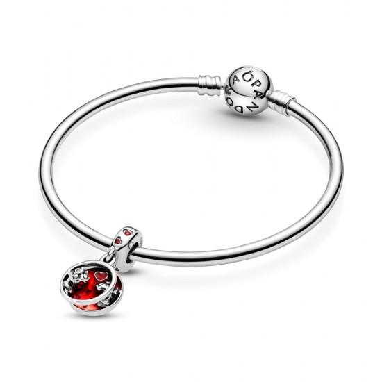 Visací přívěsek Disney Mickey Mouse & Minnie Mouse Láska a polibky