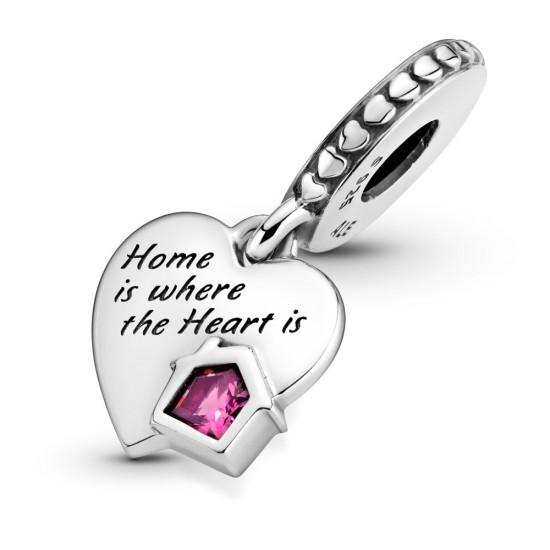 Visací přívěsek Srdce s láskou k domovu