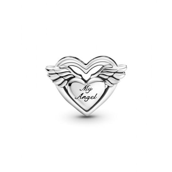 Přívěsek Andělská křídla aslovo Mum